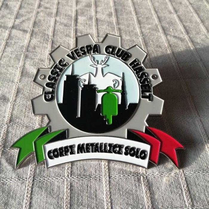 Officiële plaket - Classic Vespa Club Hasselt vzw