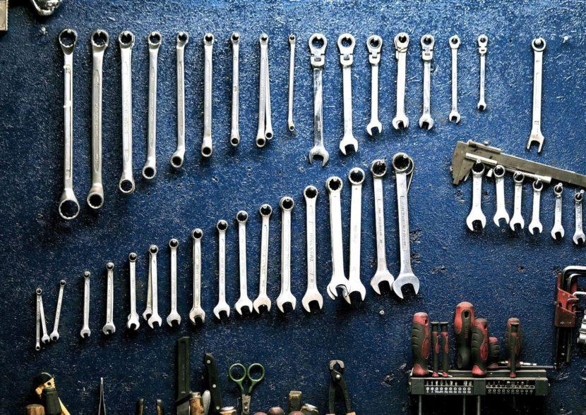 Onderhoud, tools, gereedschap